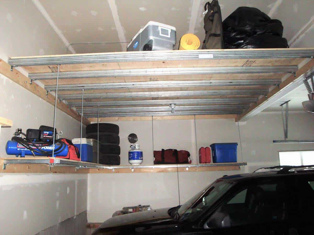 Convert Wasted Overhead Space to Organised Storage