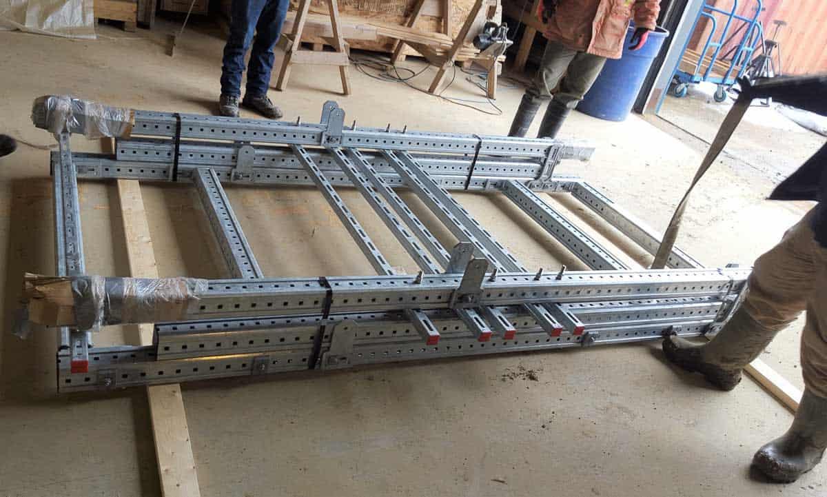 Modular Kit ready for customer assembly