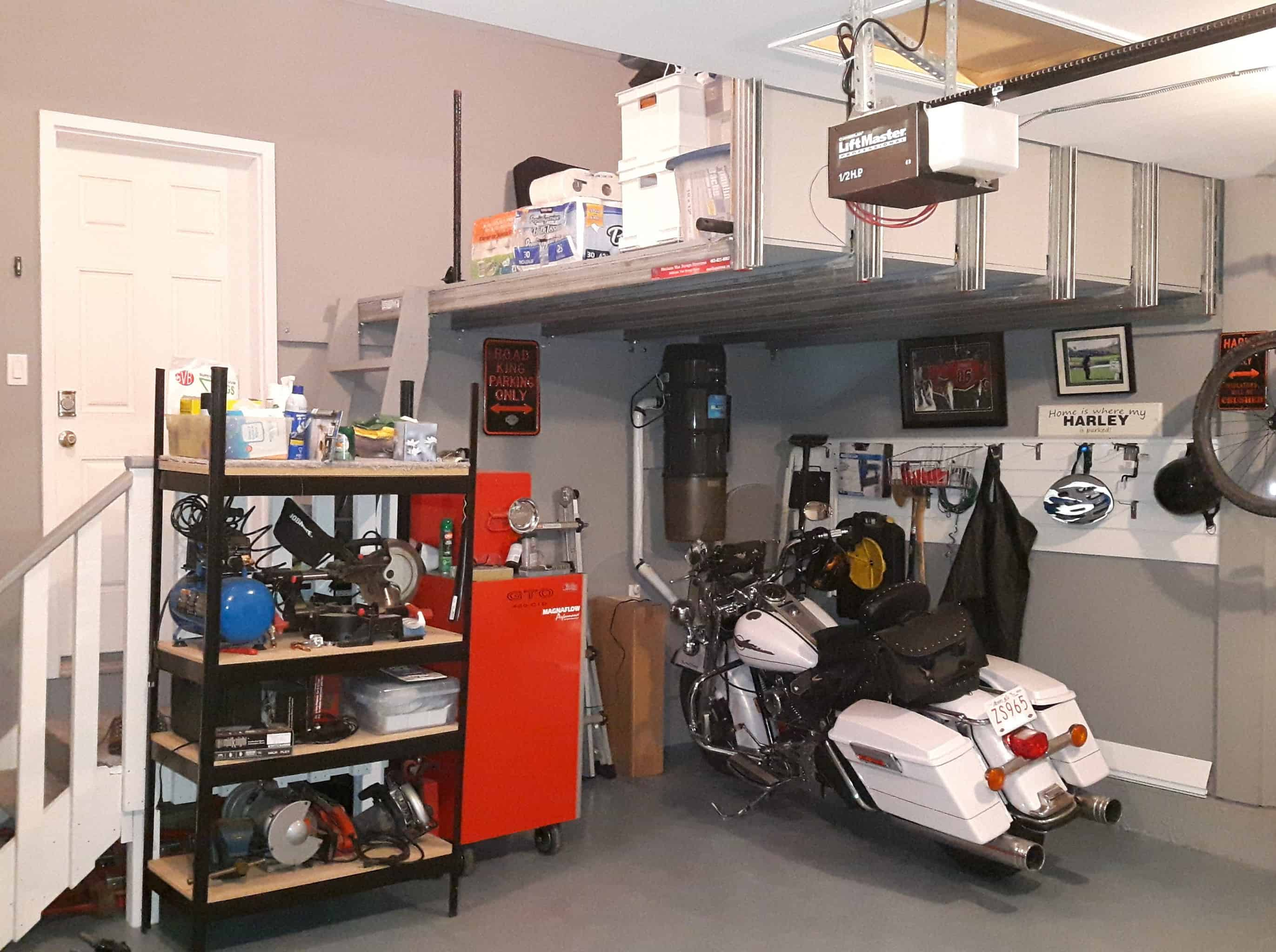 Home for the Harley