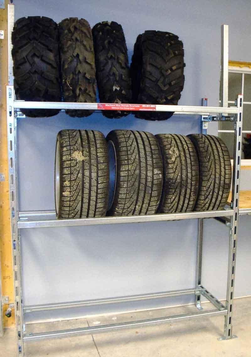 Heavy Duty Tire Rack