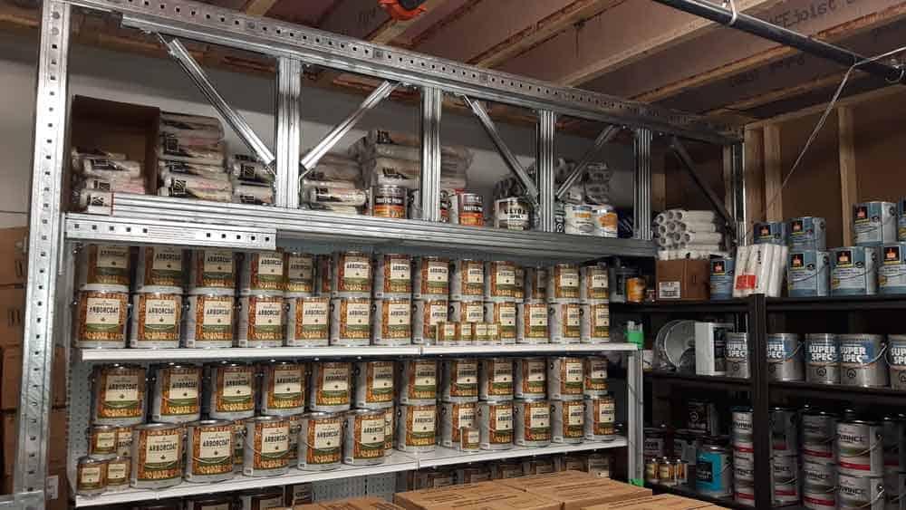 Integrated Mezzanine Storage