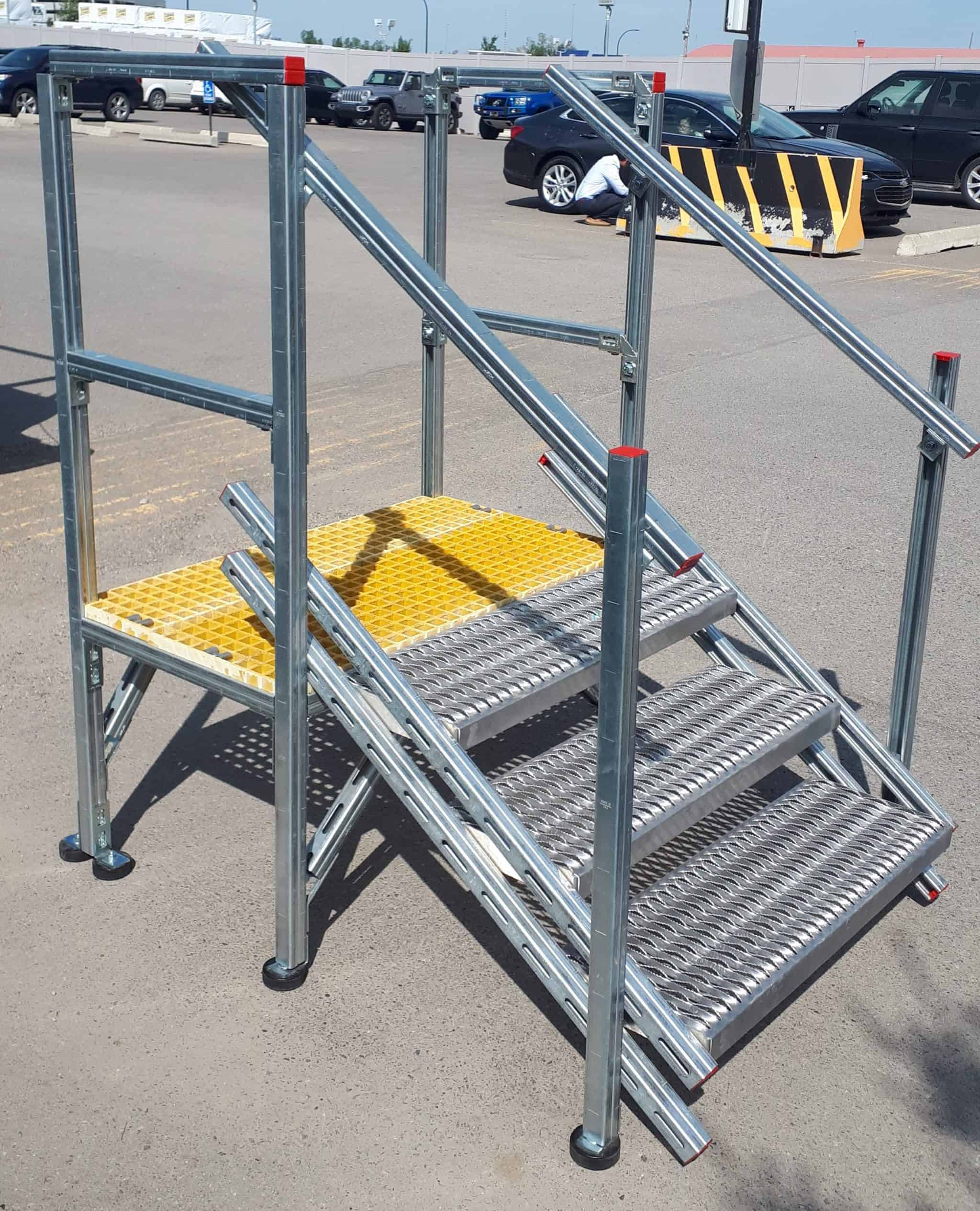 Expandable Height Stairs